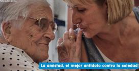 Cal destacar les dades d'Amics de la Gent Gran que confirmen que a Catalunya hi ha 175.000 persones majors de 65 anys pateixen soledat no desitjada. (Font: amicsdelagentgran.org)