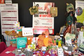 Estand d'El Mercat Social a la FESC 2015