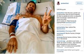 Pau Donés va comunicar a través del seu instagram que patia un càncer de colon (Font: @jarabeoficial)
