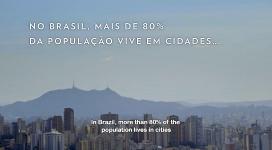 Al Brasil, el 80% de la població viu en ciutats