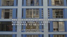 El 40% dels nens brasilers passen 1 hora o menys al dia jugant a l'aire lliure