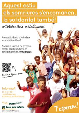 El Casal dels Infants fa una crida per aconseguir 500 persones voluntàries per les vacances d'estiu.