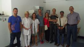 Grup de persones voluntàries que han participat en el projecte Grans Actius al CAP Manso
