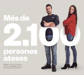 Projecte Home va atendre 2147 persones en tot el territori català l'any 2016.