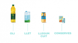 Aquests són els aliments bàsics que es necessiten recollir durant la campanya.