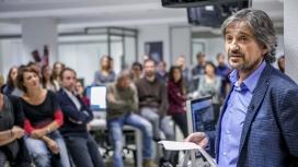 Carles Capdevila a la redacció de l'ARA