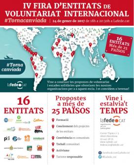 Cartell de la IV Fira #Tornacanviada. Font: Lafede.cat