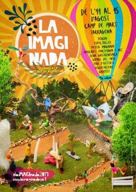 """Cartell de la 9a edició de """"La iMAGInada - Espai per a la llibertat d'expressió"""""""