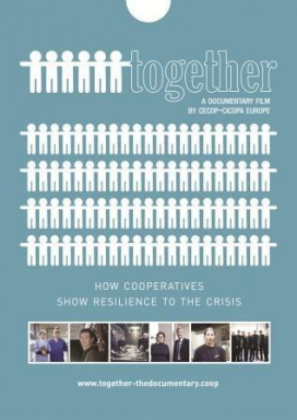 "Cartell del documental ""Together"" sobre cooperatives"