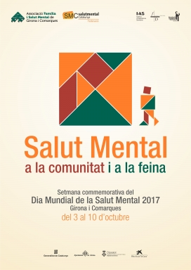 Cartell del Dia mundial de la salut mental 2017
