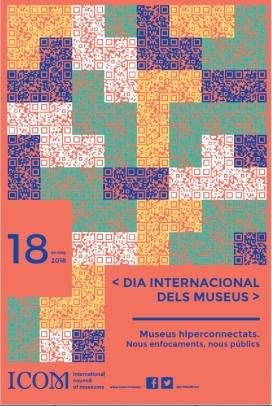 Imatge del cartell del Dia Internacional dels Museus