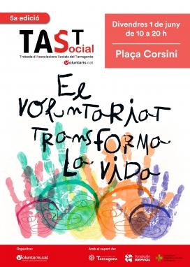 Cartell de la 5a edició del TAST Social.
