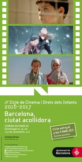 Cartell de l'edició d'enguany / Foto: Cicle de Cinema i Drets dels Infants