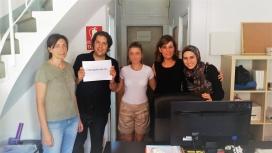 La residència Casa Bloc de Barcelona és un dels habitatges que gestiona la CCAR per acollir persones refugiades