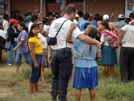 Voluntari a Bolívia. Font: Wikimedia