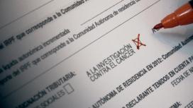 Casella per a la investigació a la declaració de la renda. Font: Petició a Change.org