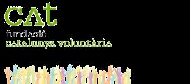 Logo de la Fundació Catalunya Voluntària. Font: FCS