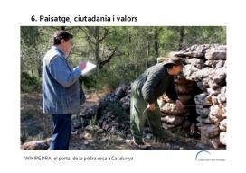 La Wikipedra s'enmarca en un context de preservació i qualitat del paisatge (imatge: wikipedra.catpaisatge.net)