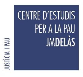 El Centre Delàs s'inscriu en Justícia i Pau