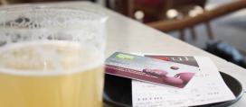 Una cervesa pagada amb RES a Girona
