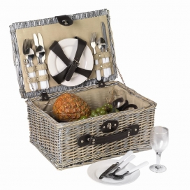 Les tradicionals cistelles de picnic són alternatives sostenibles (imatge: gustosano.eu)