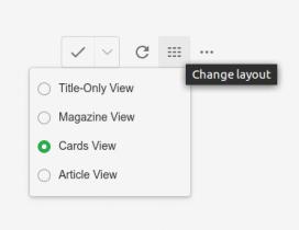 A partir d'aquest botó pdoem canviar les opcions de visualització