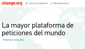 Change.org és una plataforma per demanar peticions