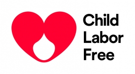 Logotip de Child Labour Free. Font: Child Labor Free