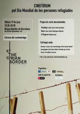 Estrena del curtmetratge 'At the Syrian Border'