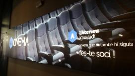 El cinema de l'Ateneu Igualadí tindrà 129 localitat i s'obrirà per Nadal del 2016.