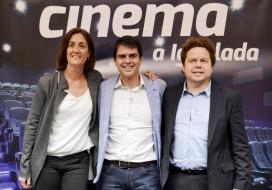Presentació oficial del Cinema a l'Ateneu Igualadí.