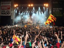 Concert d'Òmnium 11 de setembre 2011