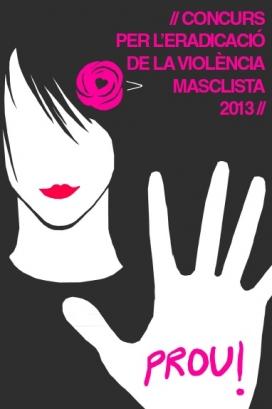Cartell del concurs per l'eradicació de la violència masclista