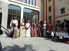 Gegants i gegantes participants a la primera edició del concurs