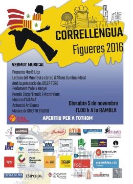 Cartell del Correllengua 2016 / Foto: CAL