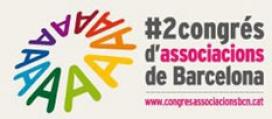 Logotip del 2n Congrés d'Associacions de Barcelona