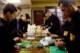 Formació de cuina dins els Programes de Formació i Inserció