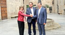Signatura del conveni entre la Taula del Tercer Sector i la Generalitat. Font: Generalitat de Catalunya
