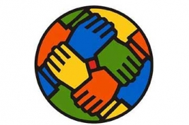 Mans agafades, símbol de treball cooperatiu (Font: xes.cat)
