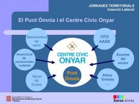 Coordinació al territori del Punt Òmnia de Plataforma Educativa
