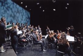 Cor i orquestra de Cultura en Viu (Font: ETC UAB)