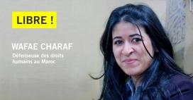 Wafae Charaf, activista marroquina pels drets humans