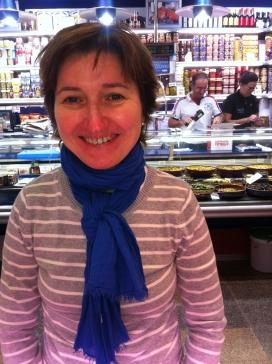 Cristina Sanmartí, gerent de l'Associació Unió de Comerciants del Mercat Central de Sabadell