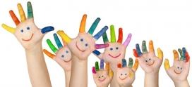Imatge il·lustrativa de mans de colors