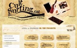Web de la plataforma Cultsurfing. Font: Cultsurfing