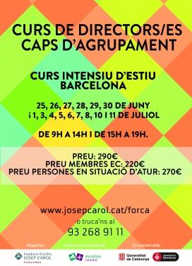 Curs de directors/es a Barcelona. Juny/juliol (intensiu)