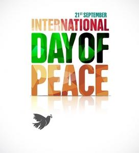 Pòster del Dia Internacional de la Pau.