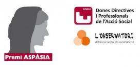 Imatge gràfica del Premi ASPÀSIA.