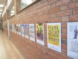 """Es pot visitar l'exposició """"25 arguments per la pau"""" fins el 6 de febrer - Foto: Coordinadora d'ONGD i aMS de Lleida"""
