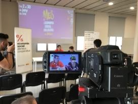 Acte de presentació del #MESSMataró a Cafè de Mar.
